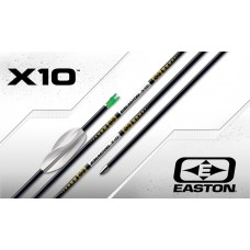Easton X10 Arrows with EP08 Points & Beiter Pin Nocks (Set of 12) : ES10